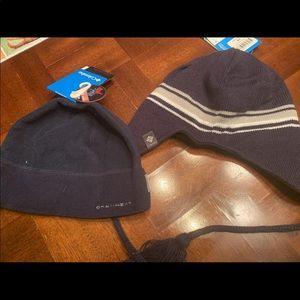 Set of boys winter hats